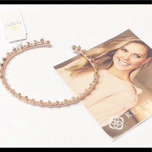 Kendra Scott CODI pinch cuff bracelet rose gold